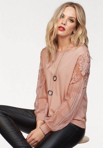 Пуловер с круглым вырезом »VIKTO...