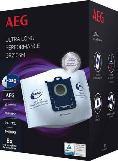 AEG Staubsaugerbeutel s-bag Megapack für AEG VX9 GR210SM, passend für AEG, 5 Liter Füllmenge