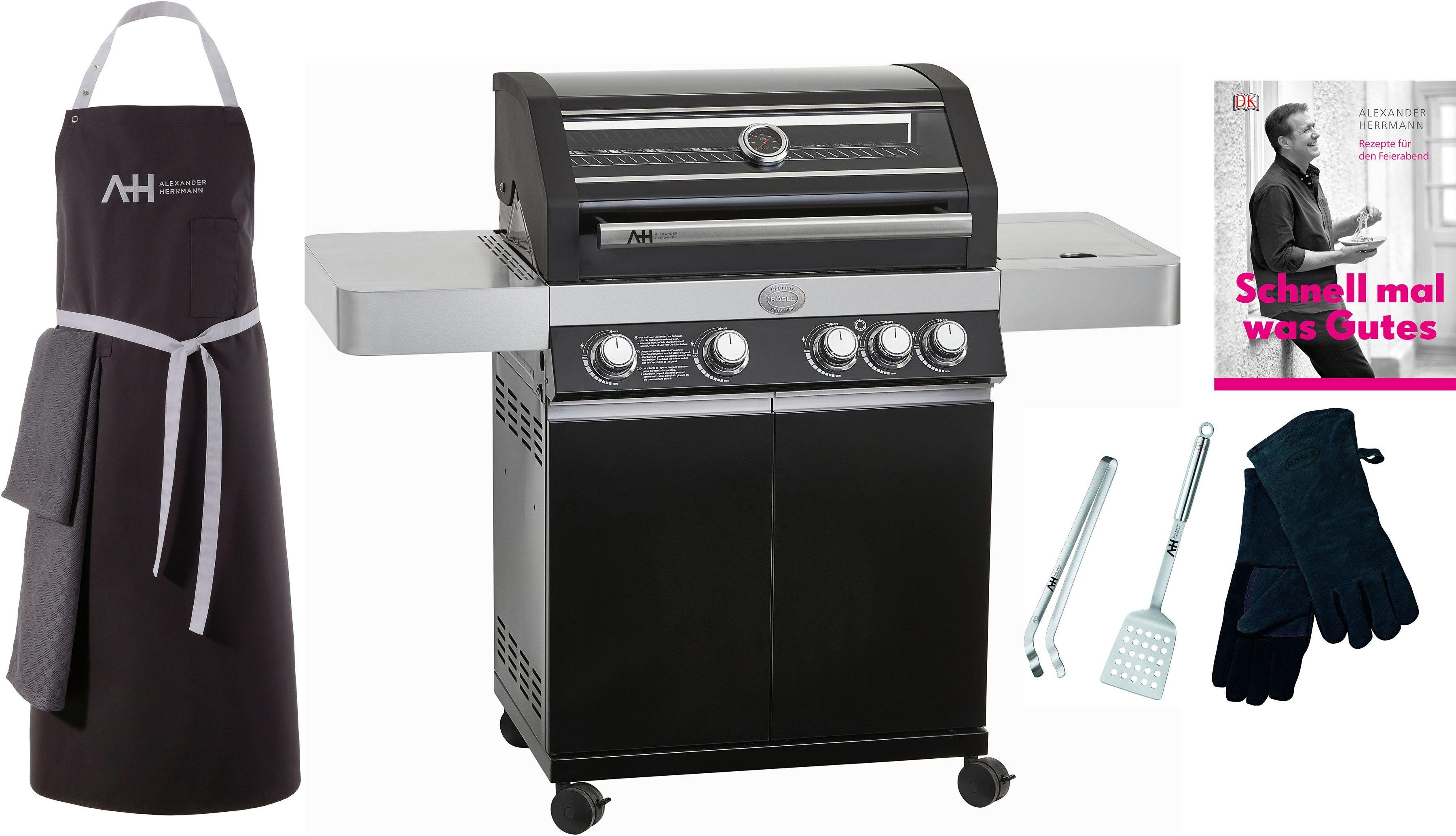 Enders Gasgrill Kansas 4 Sik Profi Turbo : Enders bbq gasgrill kansas sik profi turbo gas grill
