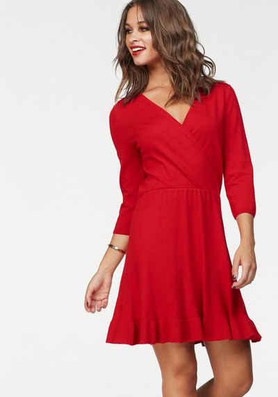 Rotes kleid kurz spitze