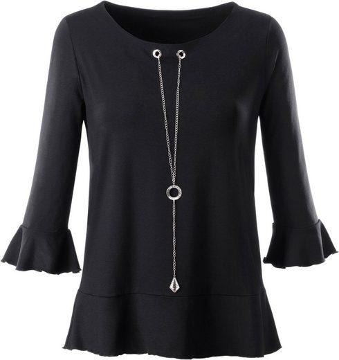 Ambria Shirt mit abnehmbarer Цепочка