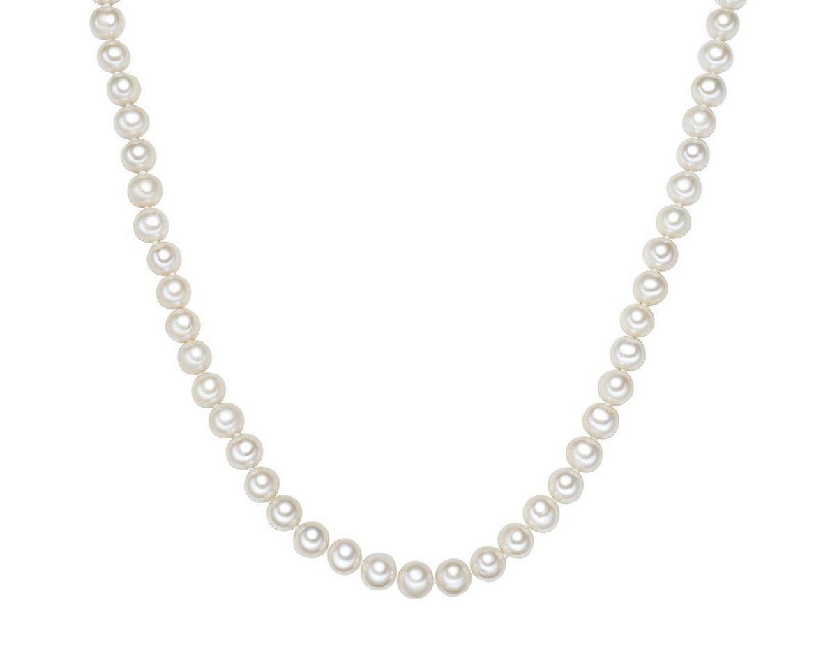 Valero Pearls Perlenkette »X433« aus Süßwasser-Zuchtperlen | Schmuck > Halsketten > Perlenketten | Lüster | Valero Pearls