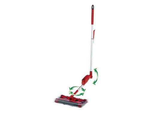 CLEANmaxx Akkubesen Sweeper G2, beutellos, rot