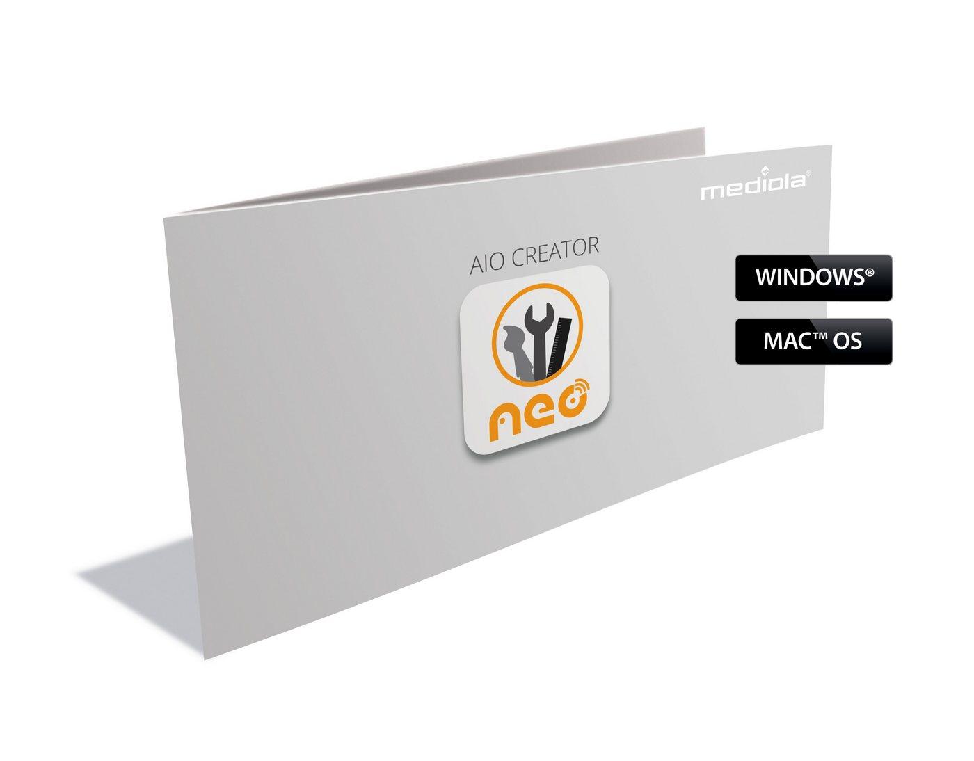 Mediola Smart Home - Steuerung, Raumklima & Komfort »AIO CREATOR NEO MAX! Edition«