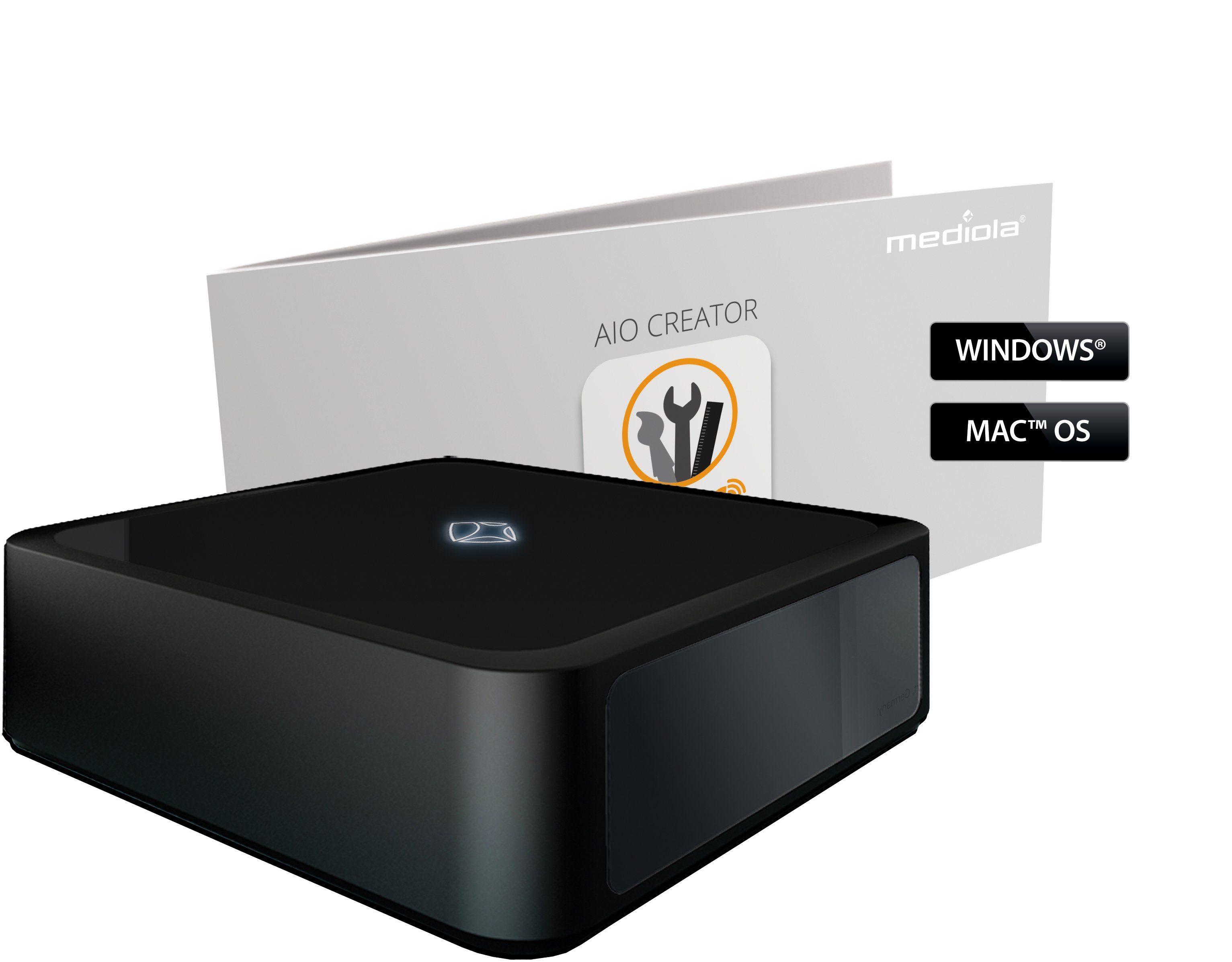 Mediola Smart Home - Steuerung & Komfort »Set: AIO GATEWAY V5Plus inkl. CREATOR NEO Plugin«