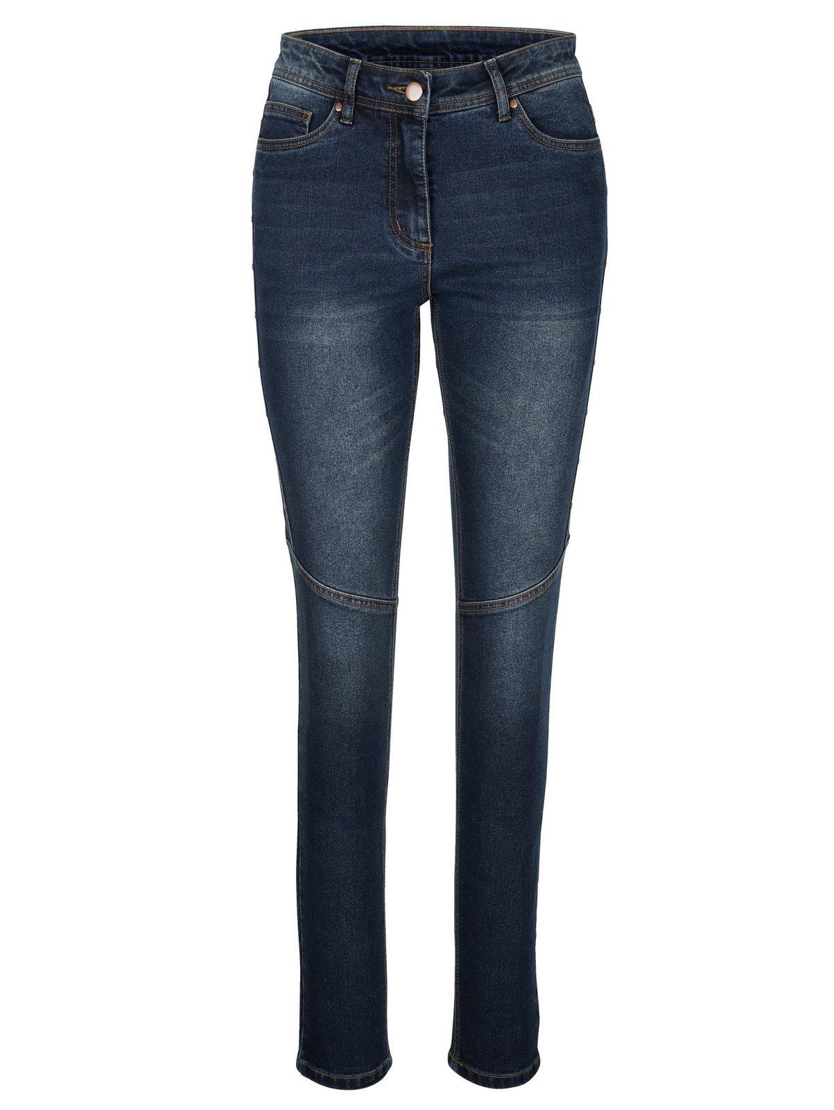 Amy Vermont Jeans mit Nieten