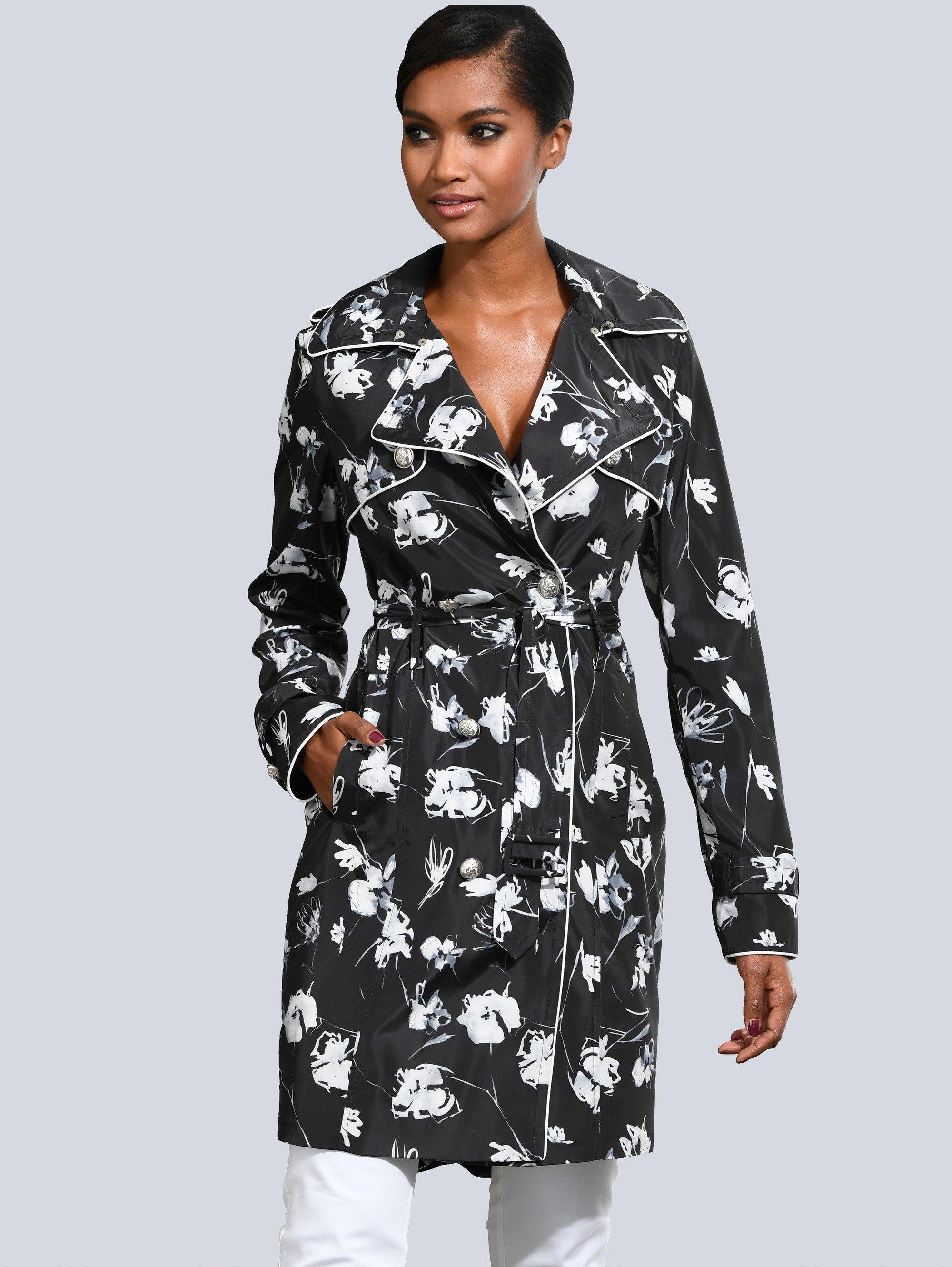 Alba Moda Trenchcoat im exklusiven Alba Moda Print   Bekleidung > Mäntel > Trenchcoats   Polyester   Alba Moda