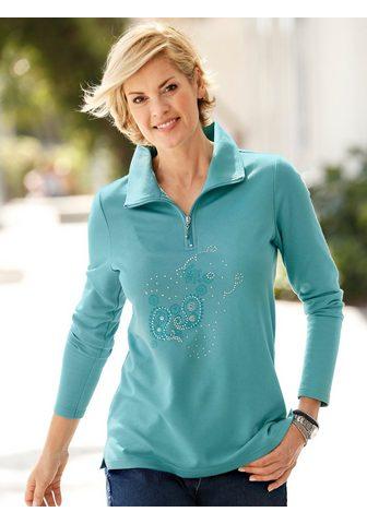 PAOLA Sportinio stiliaus megztinis su margin...