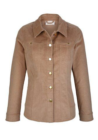 Пиджак вельветовый в классические стил...