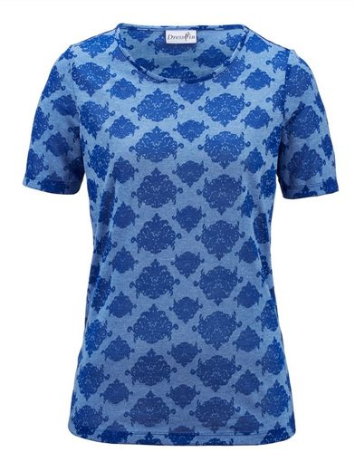 Dress In Shirt in Ausbrenner Qualität