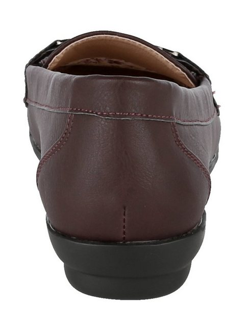 Mae&Mathilda Mokassin   Schuhe > Mokassins   Rot   Polyester   Mae&Mathilda