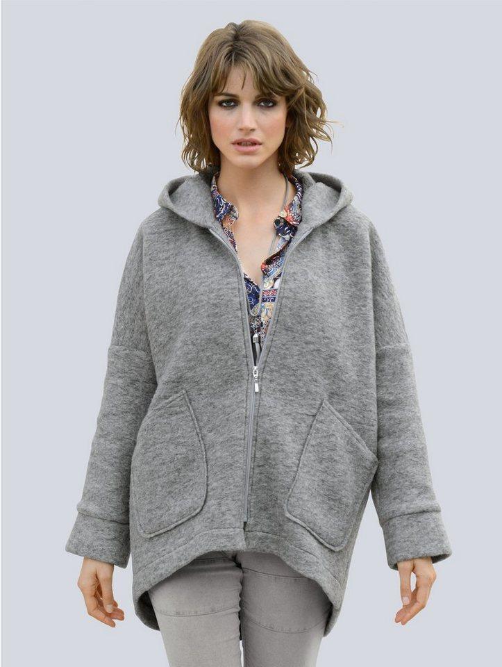 86821c27f829 Alba Moda Jacke in trendiger Oversizedform kaufen   OTTO