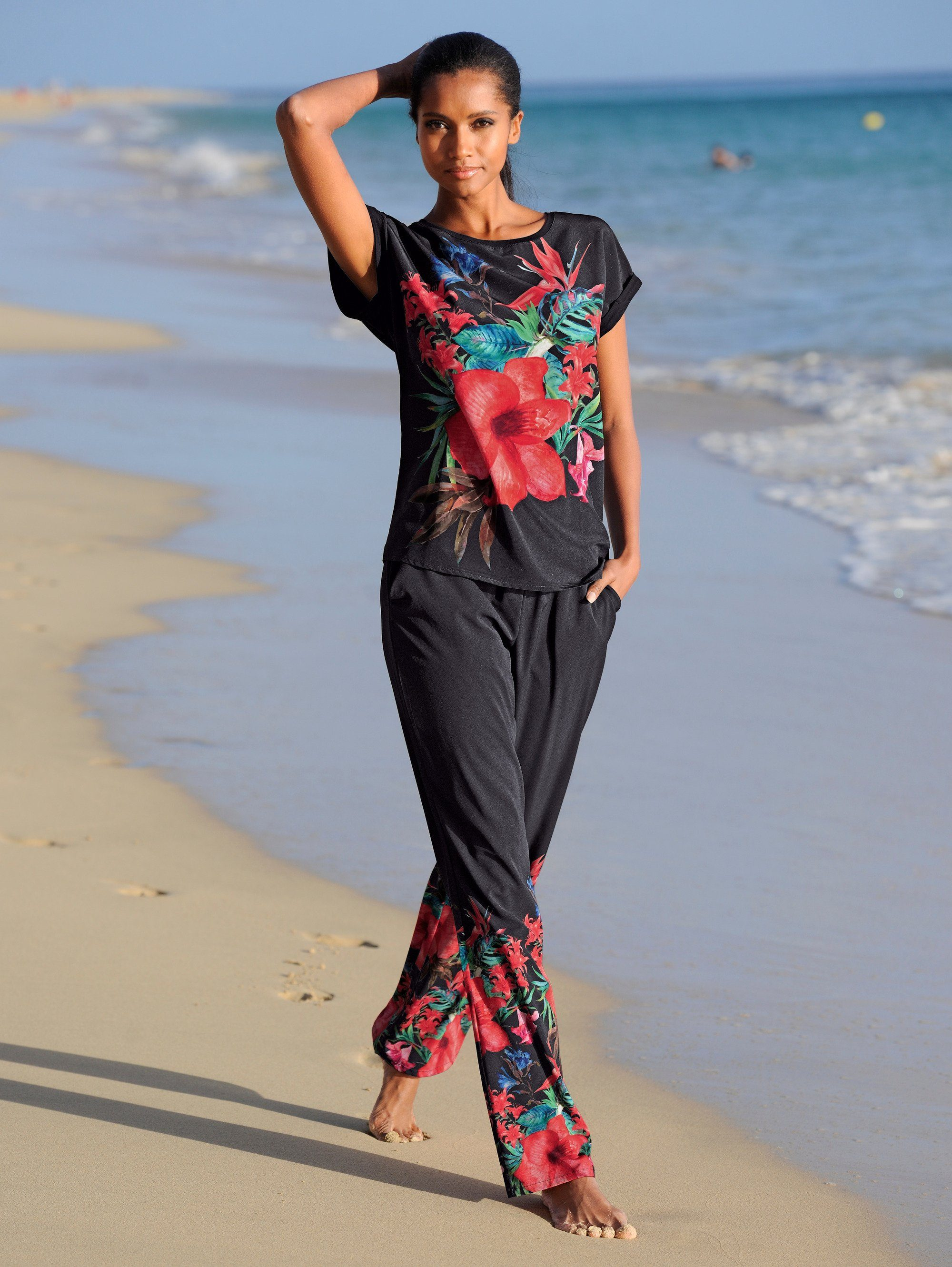 Alba Moda Shirt Im Materialmix Online Kaufen