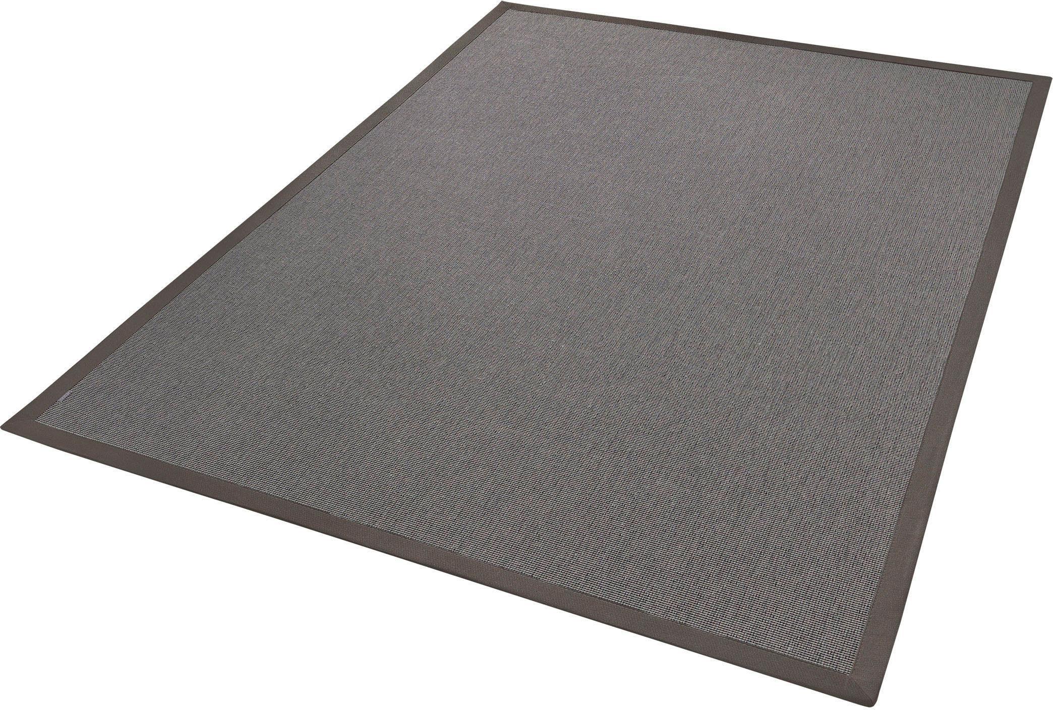 Teppich »Naturana Rips«, Dekowe, rechteckig, Höhe 8 mm, Wunschmaß
