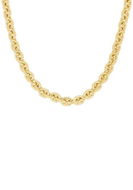 Firetti Gliederkette »Ankerkettengliederung, 2,5 mm breit, glanz, 4-fach diamantiert, vergoldet« | Schmuck > Halsketten > Gliederketten | Firetti