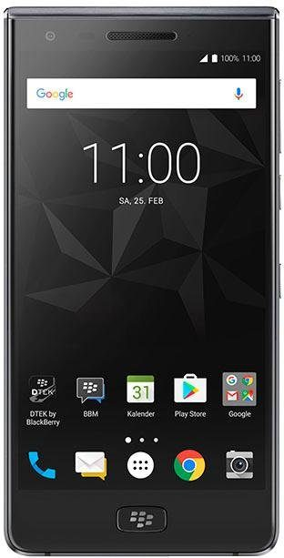 Blackberry Motion DualSIM Smartphone (13,75 cm/5,5 Zoll, 32 GB Speicherplatz, 12 MP Kamera)