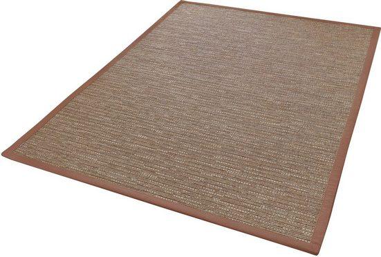 Teppich »Naturino Effekt«, Dekowe, rechteckig, Höhe 8 mm, Flachgewebe, Sisal-Optik, In- und Outdoor geeignet, Wunschmass