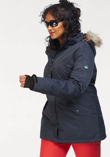 Polarino Skijacke mit Schneefang und Windstopperbündchen