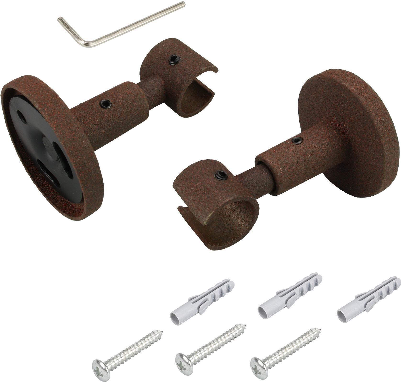 Deckenträger, Liedeco, für Gardinenstangen Ø 16 mm (1 Stück) | Heimtextilien > Gardinen und Vorhänge > Gardinenstangen | Liedeco