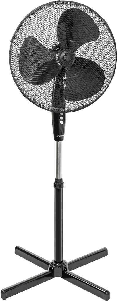 bestron Standventilator mit Schwenkfunktion, Höhe: 122 cm, Ø 45 cm, 45 Watt, Schwarz