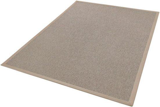 Teppich »Naturana Panama«, Dekowe, rechteckig, Höhe 8 mm, Sisal-Optik, Wunschmaß