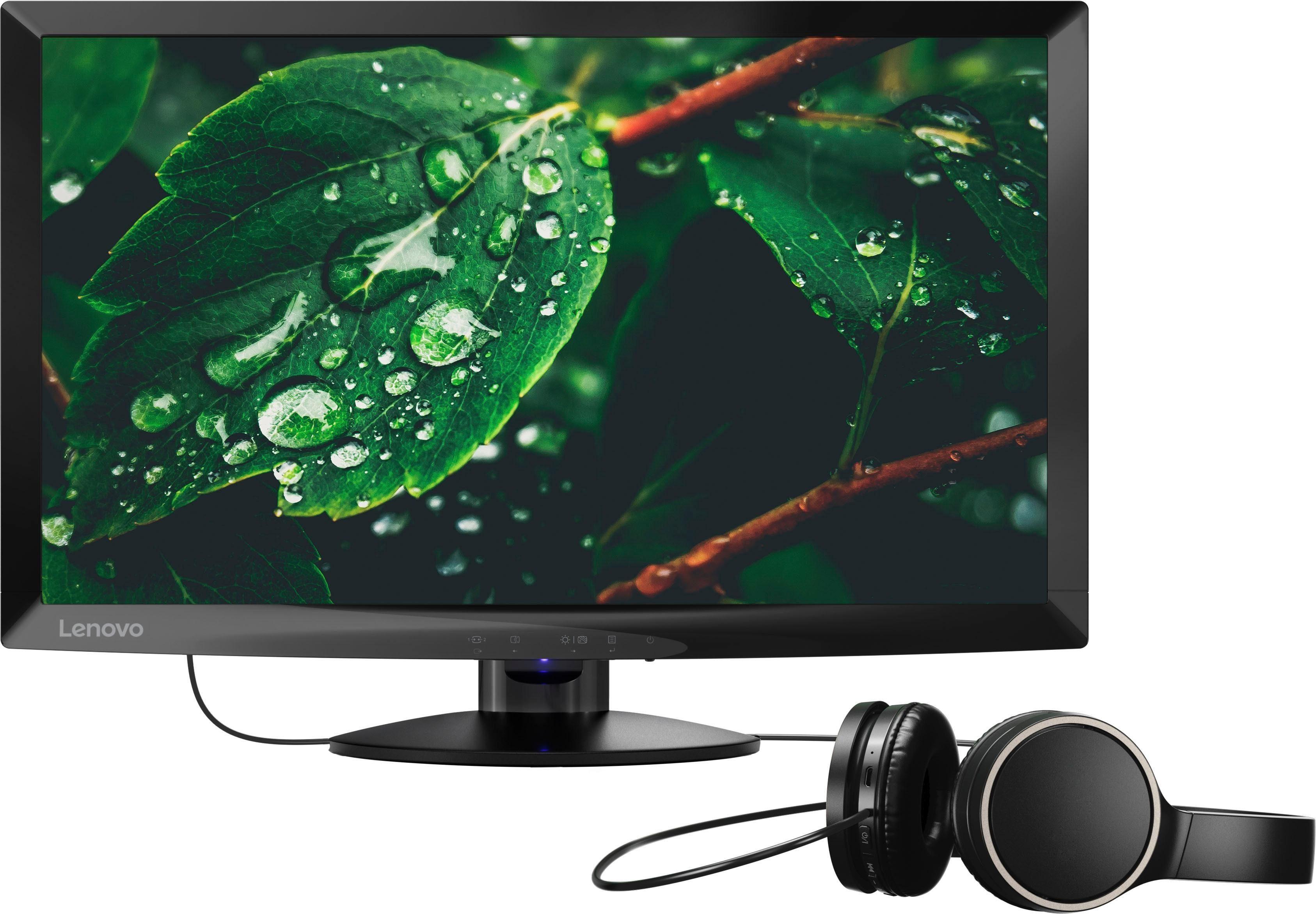 Lenovo C24-10 LED-Monitor (1920 x 1080 Pixel, Full HD, 1 ms Reaktionszeit)