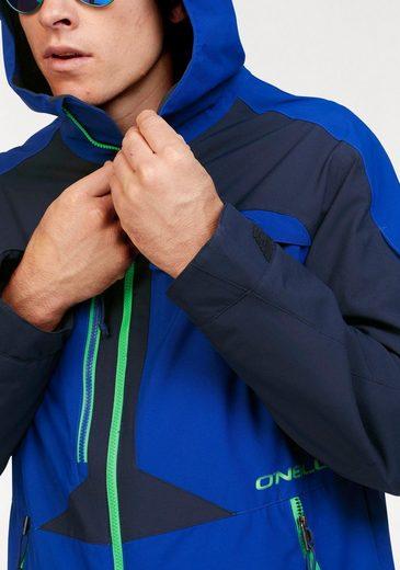Skijacke Versiegelt Nähte 10000mm O'neill Wassersäule Jacket« »exile Kritische 80SaqzS