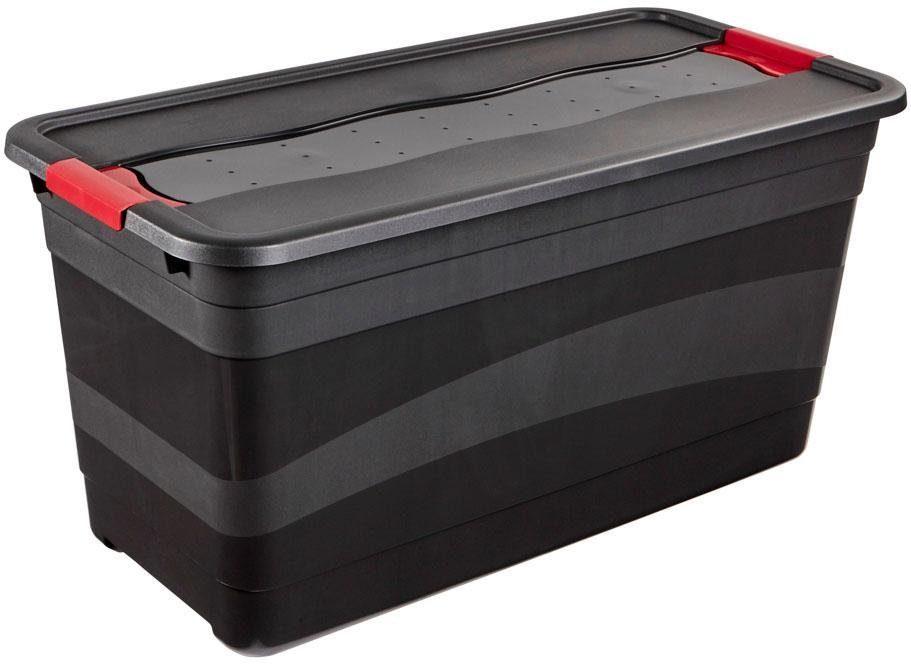 keeeper Transportbehälter mit Deckel, 79,5 x 39,5 x 40 cm, 83 Liter, »eckhart«