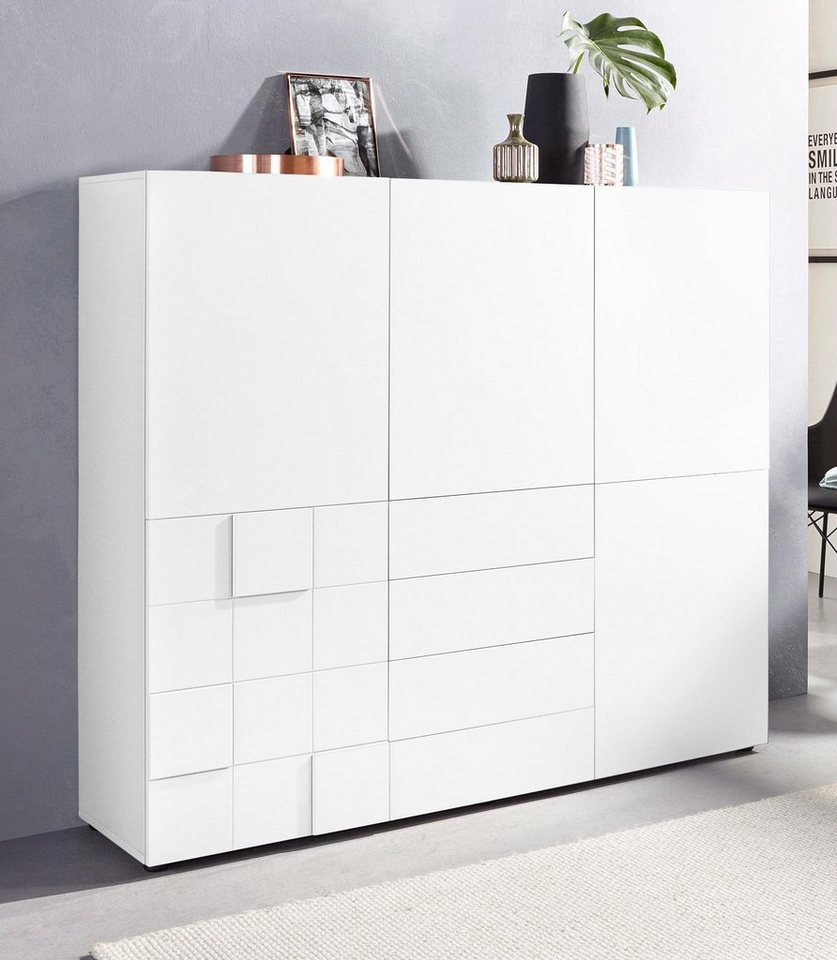 highboard breite 152 cm 5 t ren online kaufen otto. Black Bedroom Furniture Sets. Home Design Ideas