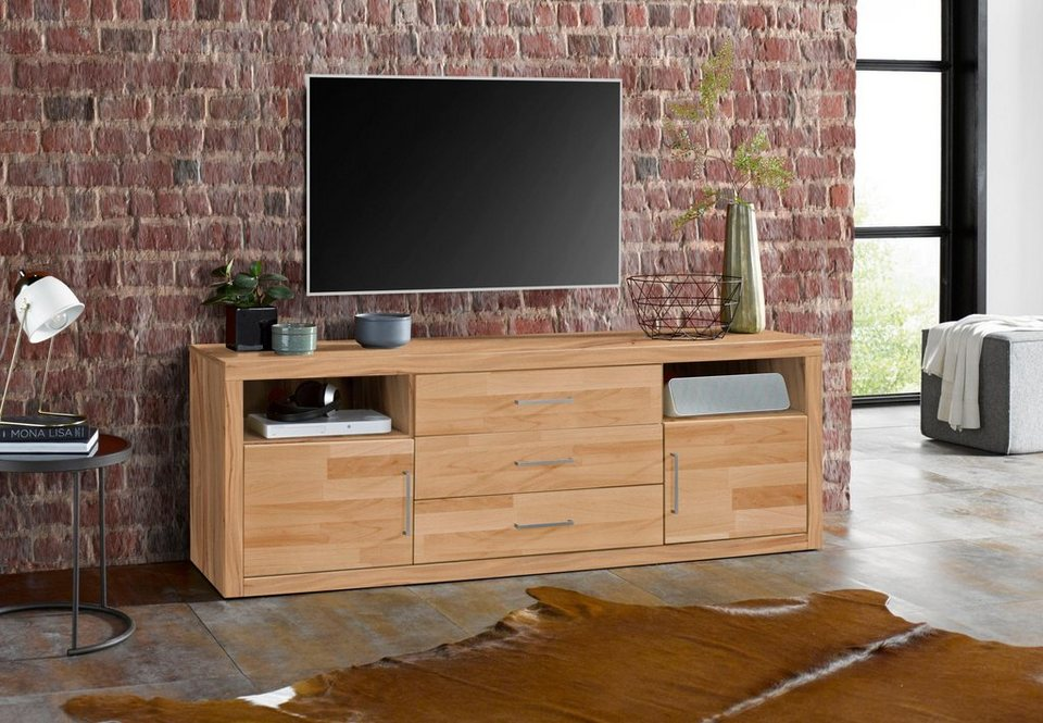 lowboard logo breite 180 cm 2 t ren online kaufen otto. Black Bedroom Furniture Sets. Home Design Ideas