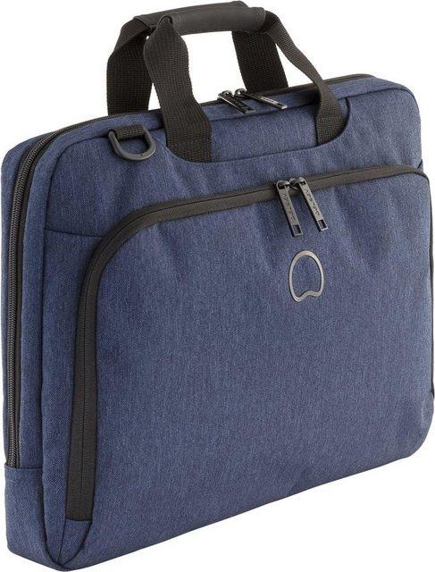DELSEY Businesstasche mit 15,6-Zoll Laptopfach, »Esplanade, 1 Fach« | Taschen > Business Taschen > Sonstige Businesstaschen | Blau | Delsey