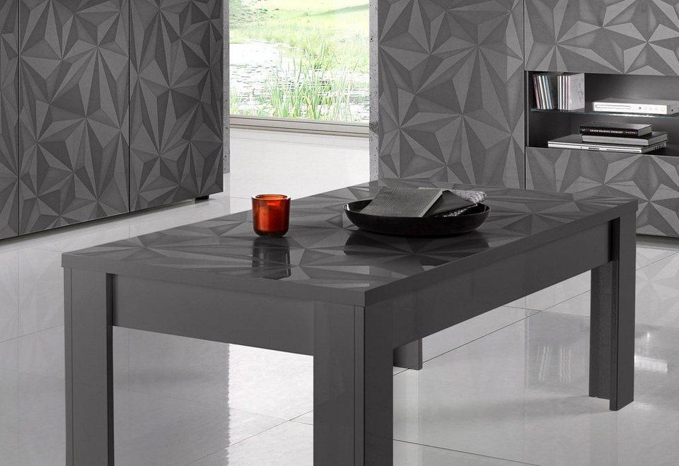 LC Couchtisch »Prisma«, Breite 122 cm, 2,2 cm starke Tischplatte online  kaufen | OTTO