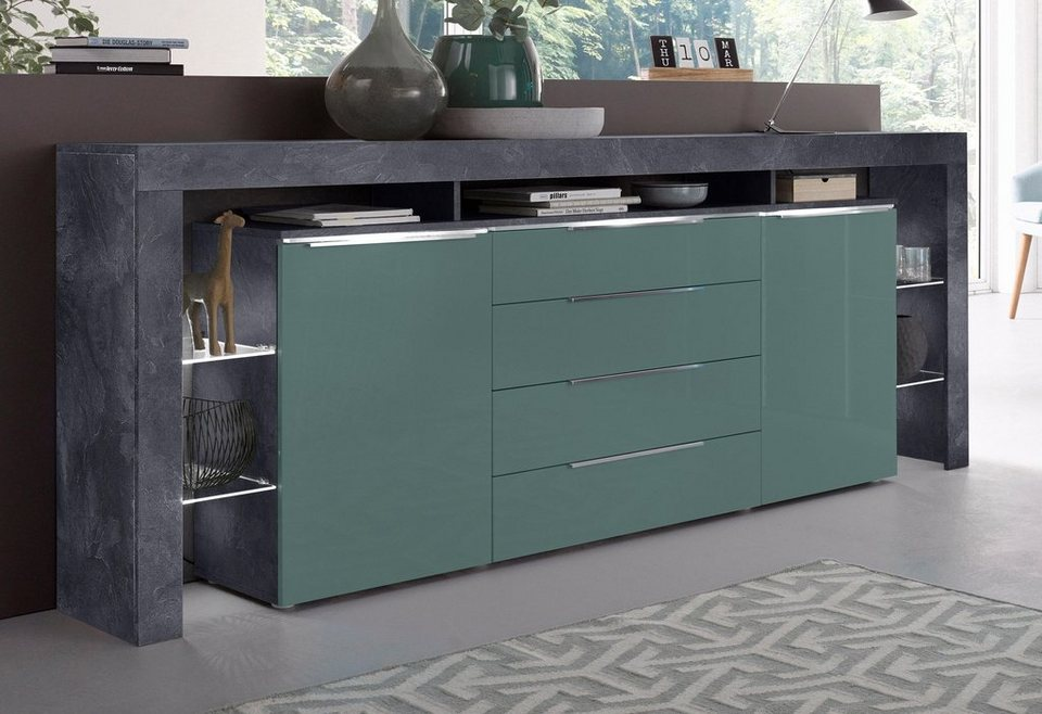 Places of Style Sideboard »Lima«, Breite 220 cm | OTTO