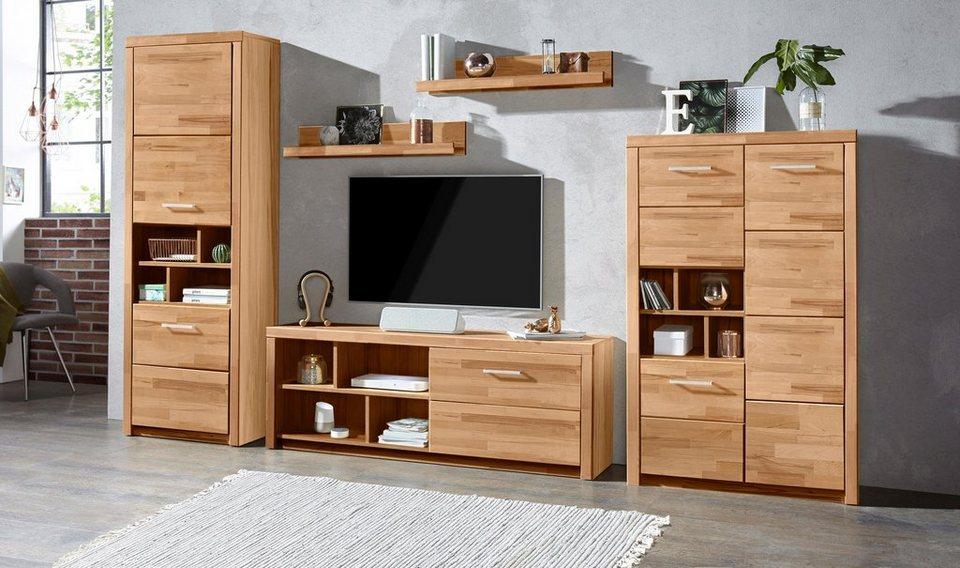 wohnwand martha 4 tlg online kaufen otto. Black Bedroom Furniture Sets. Home Design Ideas