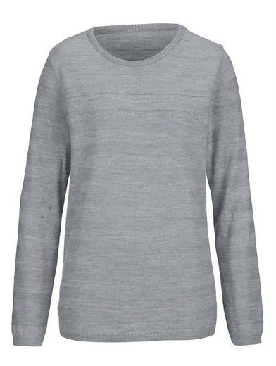 Dress In Pullover im Ajourmuster