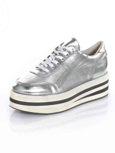 Alba Moda Sneaker mit modisch hoher Plateausohle f895b79a4f