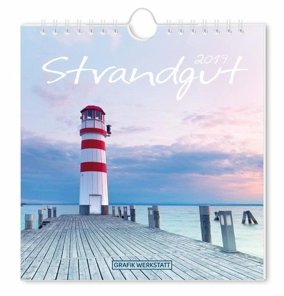 Kalender »Strandgut 2019 Postkartenkalender«