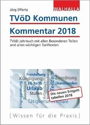 Gebundenes Buch »TVöD Kommunen Kommentar 2018«