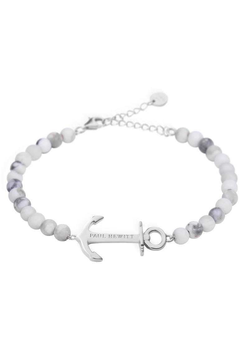 PAUL HEWITT Armband »Anker, PH-ABB-S-M« mit Perlen (synth)