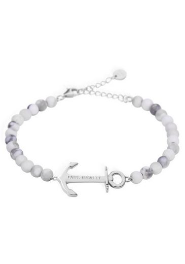 PAUL HEWITT Armband »Anker, PH-ABB-S-M«, mit Perlen (synth)