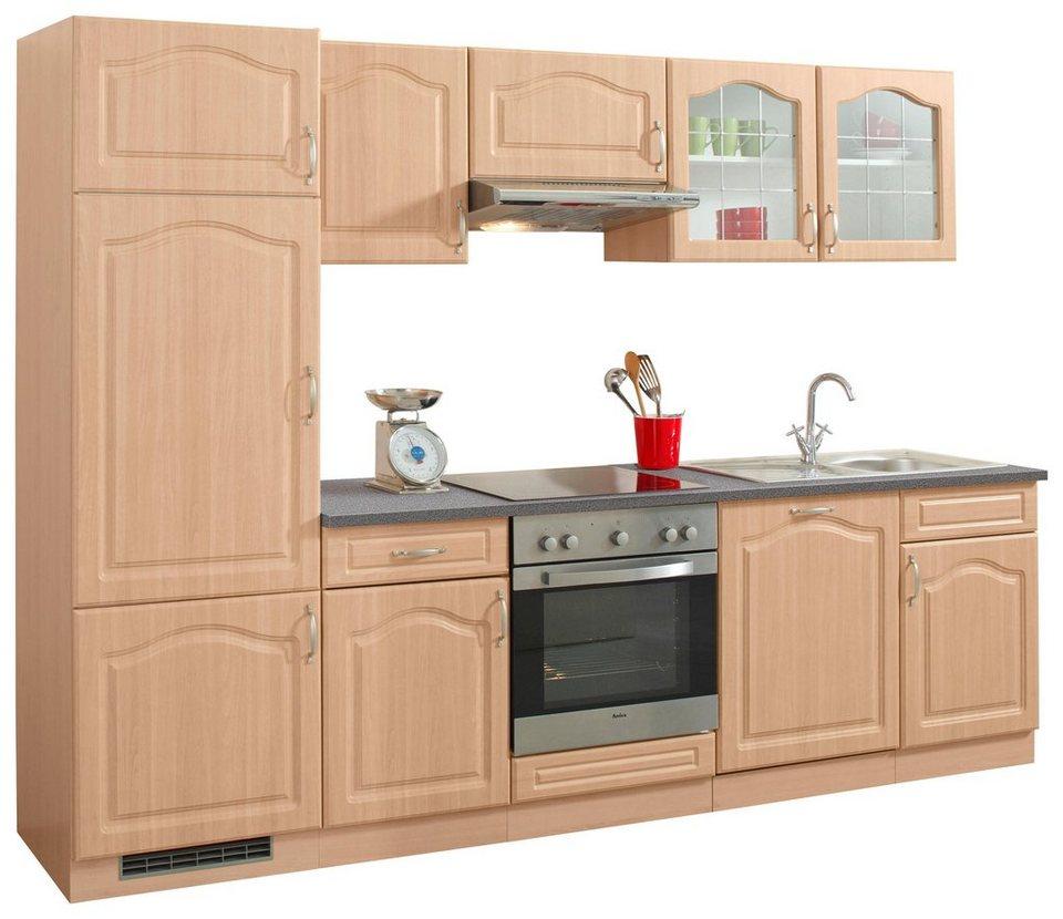 wiho Küchen Küchenzeile »Linz«, mit E-Geräten, Breite 16 cm online kaufen   OTTO