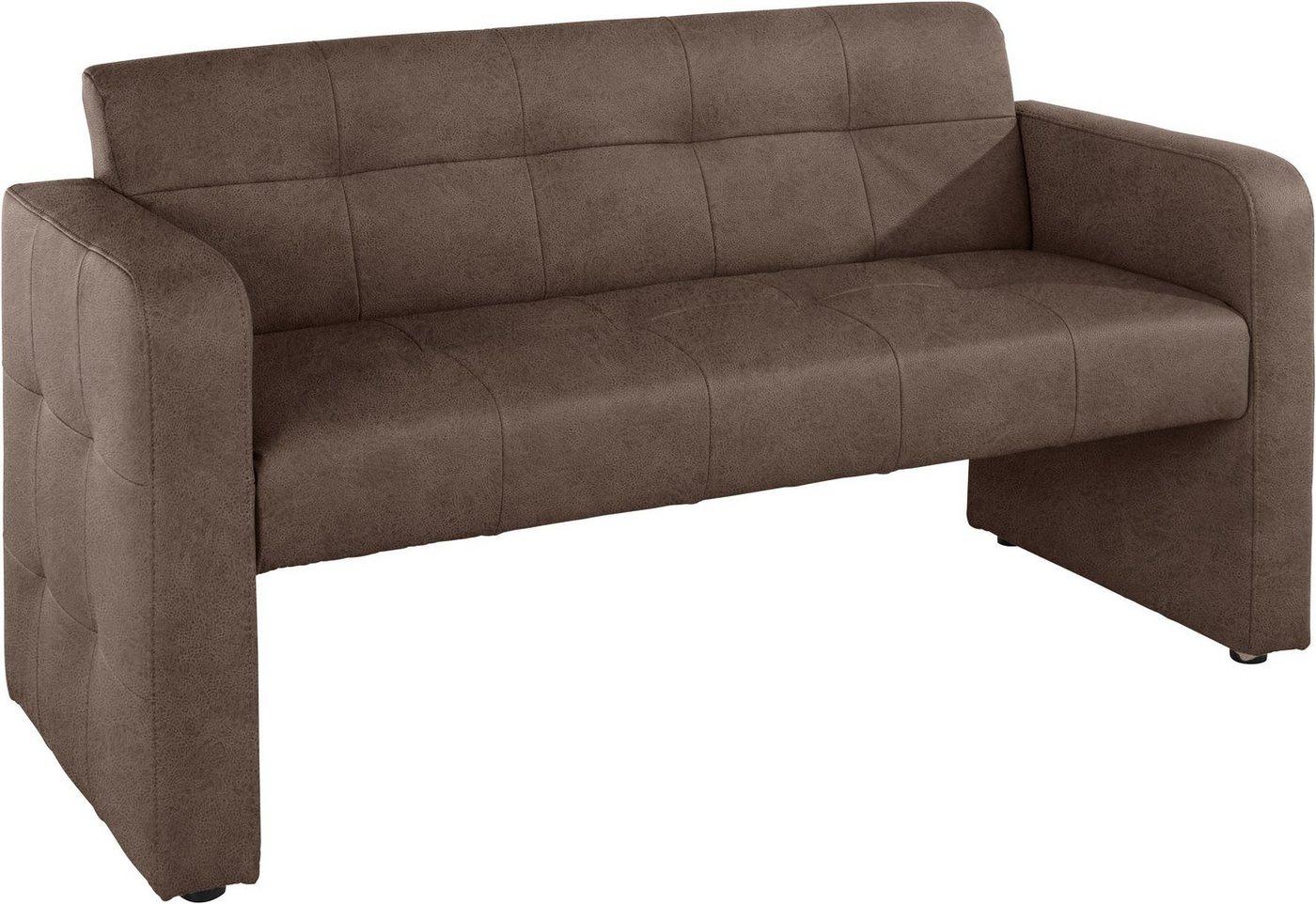 exxpo - sofa fashion Bank mit Rückenlehne, Breite 162 cm - exxpo - sofa fashion