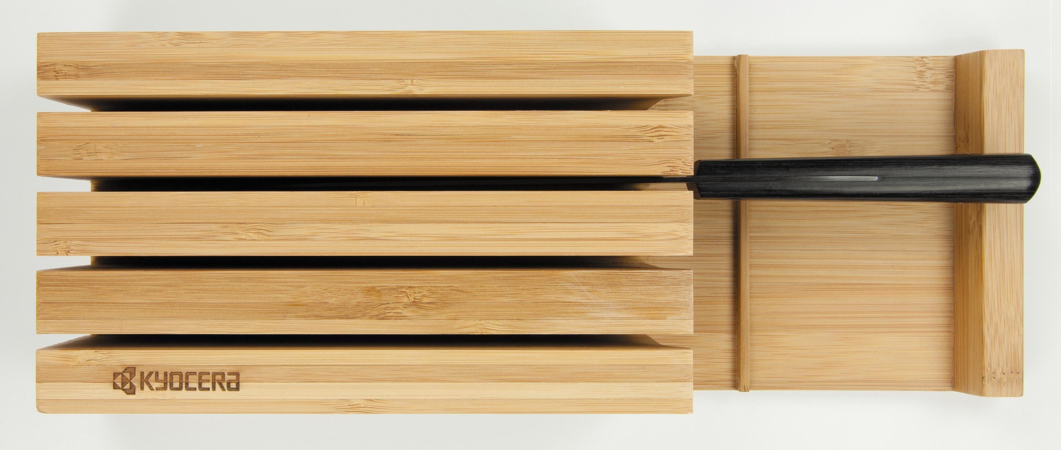 KYOCERA Messerblock »Bamboo«, leer