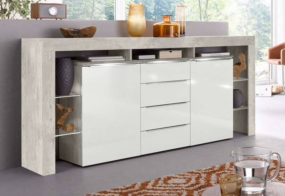 Places Of Style Sideboard Lima Breite 192 Cm Otto