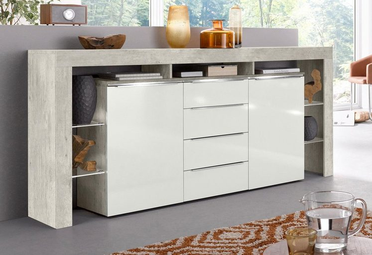 Places of Style Sideboard »Lima«, Breite 192 cm