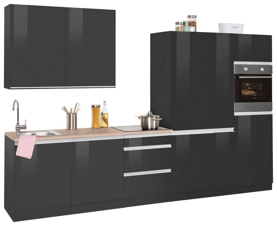 held m bel k chenzeile ohio ohne e ger te breite 330 cm. Black Bedroom Furniture Sets. Home Design Ideas