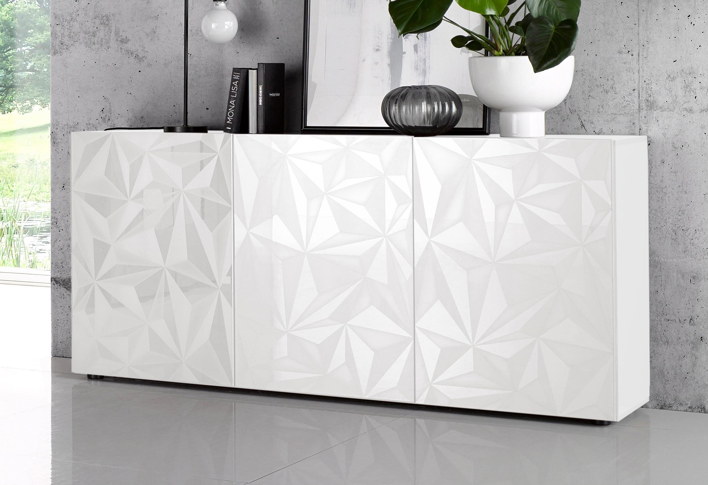 Anthrazit lack sideboards online kaufen m bel for Sideboard zela