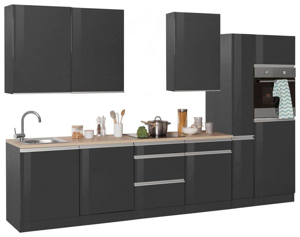 held m bel k chenzeile ohio ohne e ger te breite 330 cm bestehend aus 10 teilen online. Black Bedroom Furniture Sets. Home Design Ideas