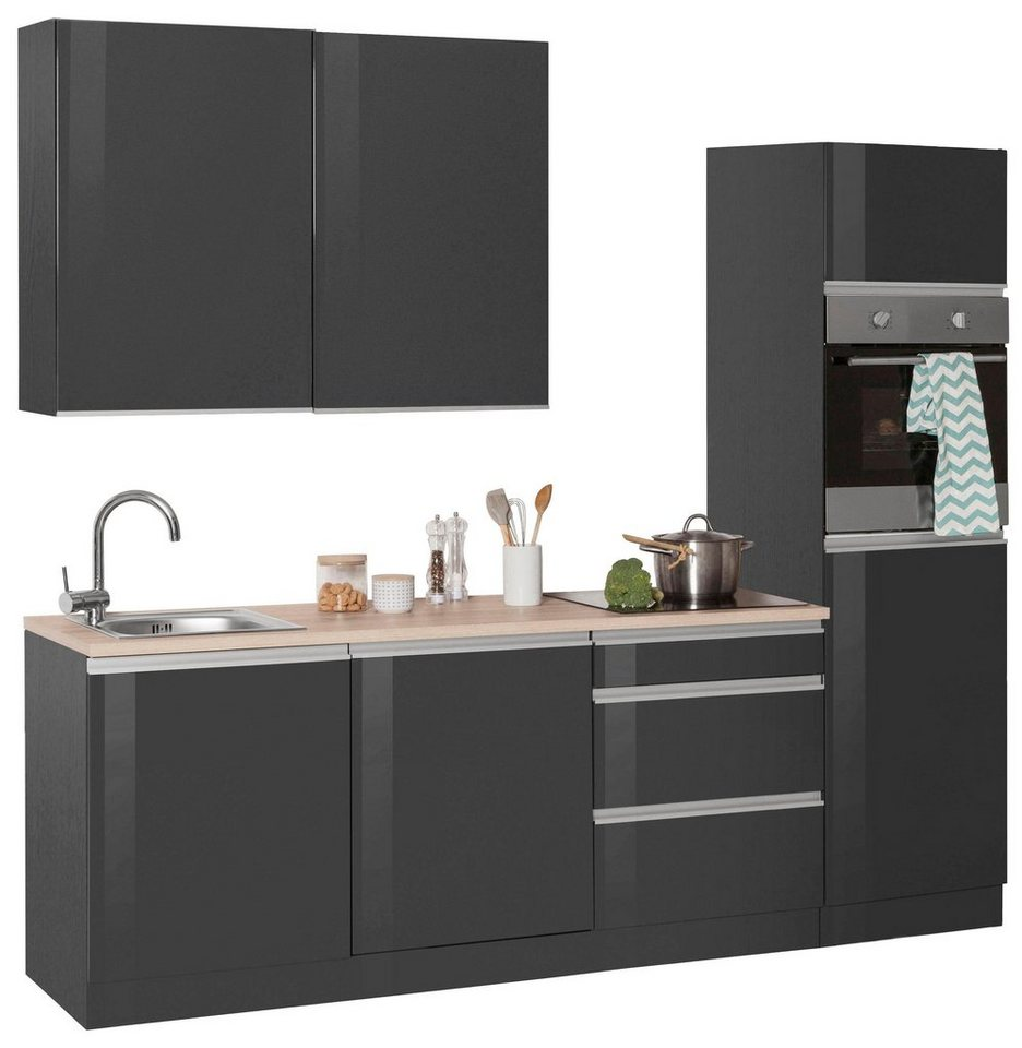held m bel k chenzeile ohio ohne e ger te breite 240 cm. Black Bedroom Furniture Sets. Home Design Ideas