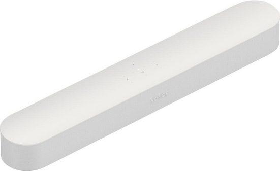 Sonos Beam Smart Soundbar (WLAN (WiFi), mit integrierter Sprachsteuerung)